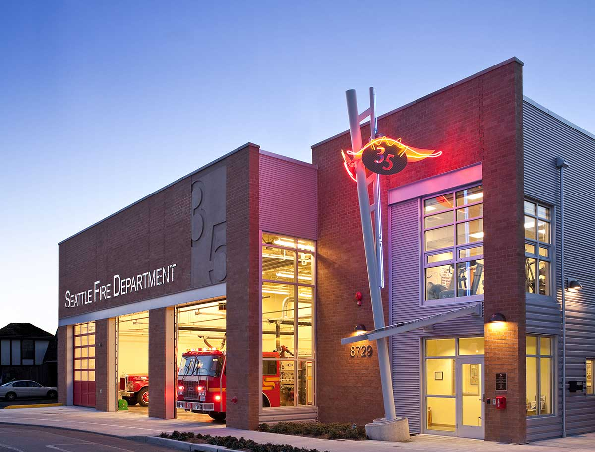 City of Seattle Fire Station #35 - Kirtley-Cole Associates