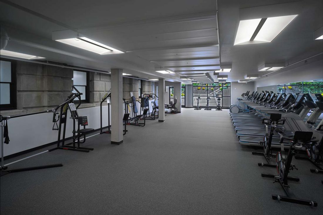 Holy names academy commons fitness center addition kirtley